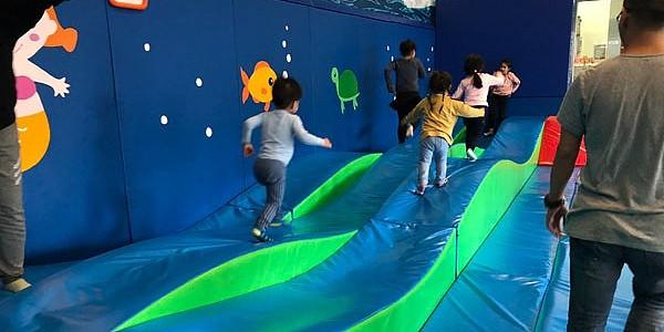 鴨脷洲體育館 - 兒童遊戲室